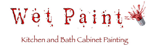 Wet Paint! Kitchen and Bath Cabinet Painting